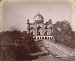 General view of Safdar Jang's Tomb, Delhi.